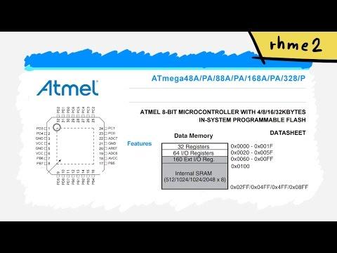 Start reverse engineering AVR - Memory Map and I/O Registers - rhme2 Reverse Engineering