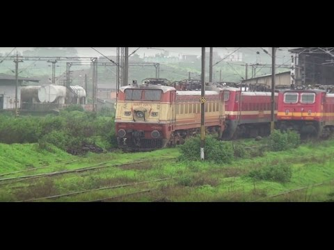 A Buffet of 17 Electric Locomotives of Indian Railways served to you in 1Min Video