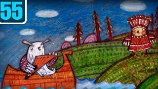 Волшебный фонарь - Волшебные слова Вяйнямёйнена - По мотивам карельского эпоса  / серия 55