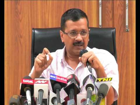Delhi Chief Minister Arvind Kejriwal's Press Conference.