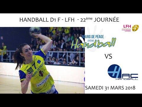 2018 03 31 Rencontres Sportives   Championnat D1 F LFH 22ème journée   DHBDP vs LE HAVRE