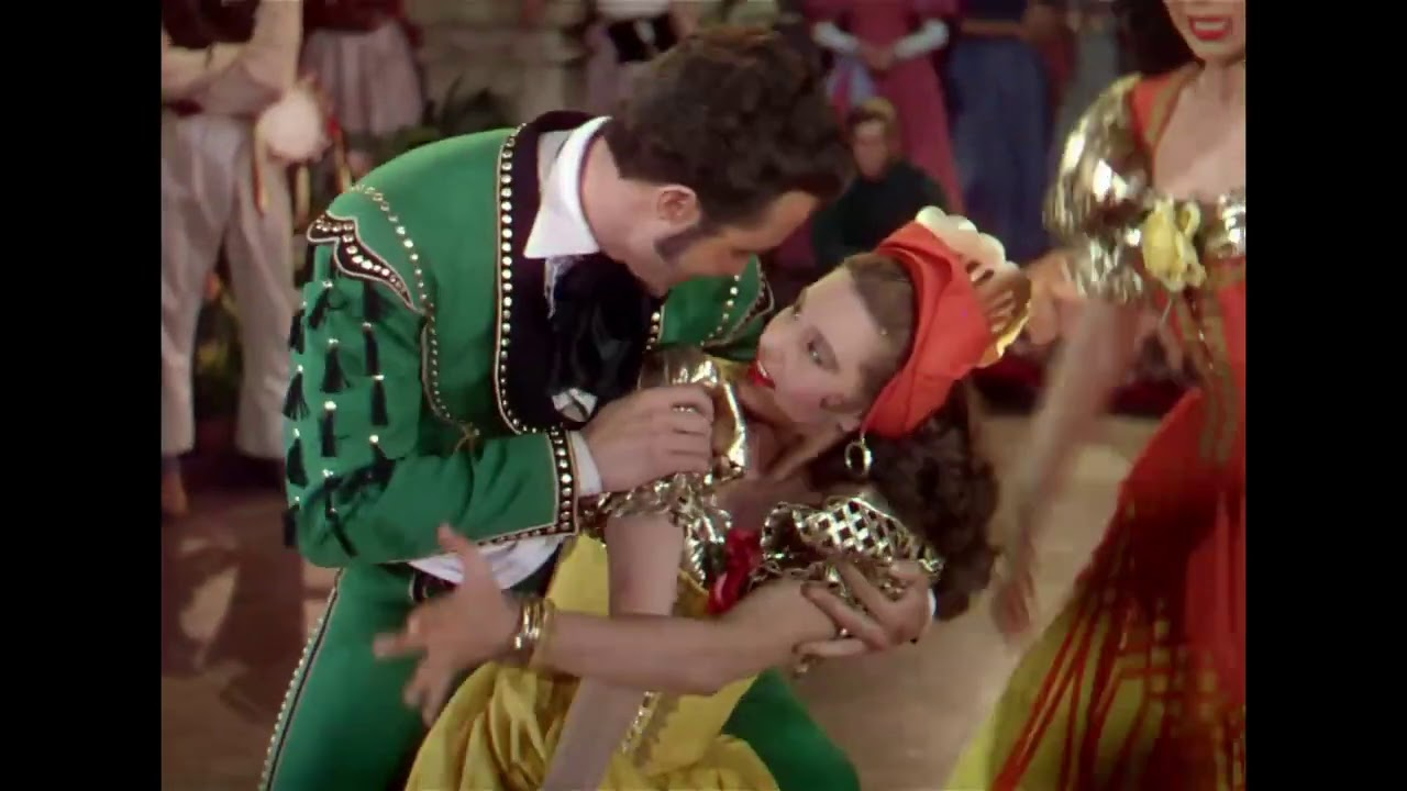 "Download Ricardo Montalbán, Ann Miller, Cyd Charisse | ""Dance of Fury"" | The Kissing Bandit ('48)"