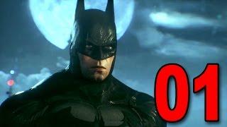 Batman: Arkham Knight - Part 1 - Welcome to Gotham City (Playstation 4 Gameplay)
