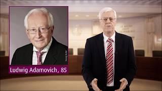 Ludwig Adamovich 85: Der VfGH gratuliert herzlich!