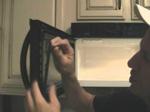 Broken microwave door!