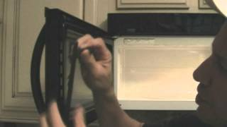 Broken microwave door!