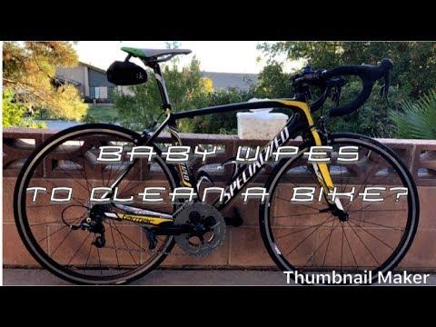 What I Use To Clean My Bike