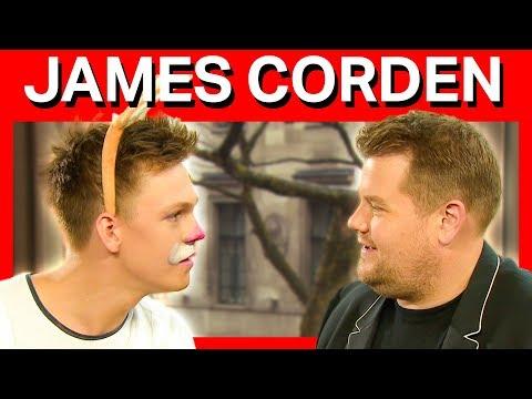MY VERY HONEST INTERVIEW w/ James Corden