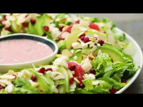 Christmas Wreath Salad Youtube