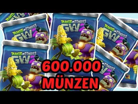 Plants Vs Zombies Garden Warfare 2 Sticker Pack Opening 600K Münzen Deutsch