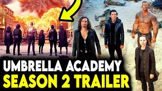 The Umbrella Academy Season 2 Trailer IS HERE! - Reaction & First Impressions!
