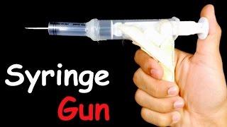 How to Make AIR GUN that Shoots | HomeMade Gun