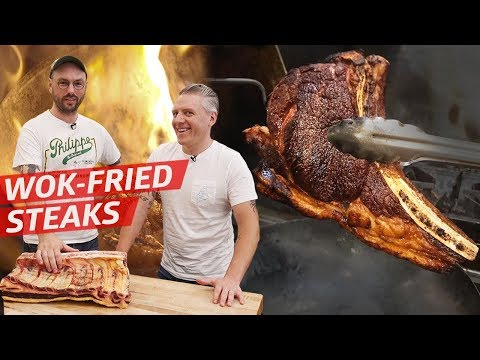 Can You Deep Fry a Dry-Aged Steak in a Wok? — Prime Time