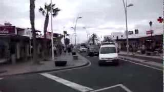 Costa Teguise, Lanzarote   shop and retail areas