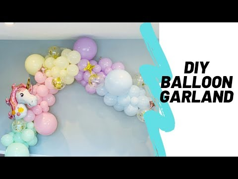 DIY Balloon Garland | Unbox | How To
