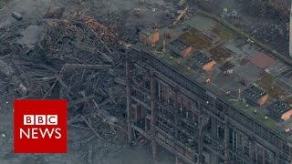 Didcot Power Station 'explosion' - BBC News