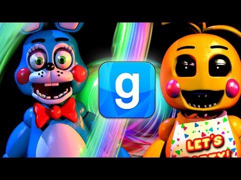 ANIMATRONIC CHALLENGE! - Gmod Five Nights At Freddys Mod (Garrys Mod)
