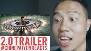 2.0 Trailer Reaction - Tamil | #Chinepaiyen Reacts | Superstar Rajinikanth