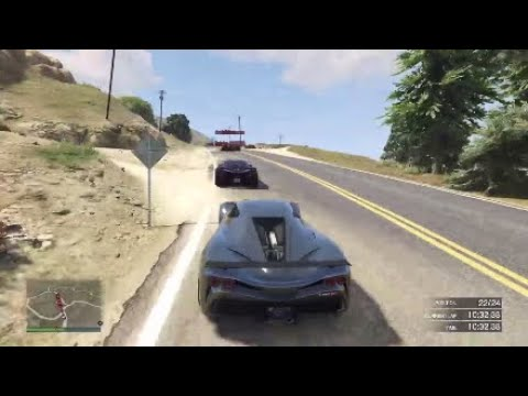 Done with GTA V Racing.