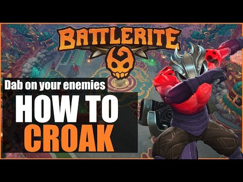 ⚔️►Comprehensive & Indepth CROAK Guide (Updated) | NEW Battlerites EXPLAINED | Battlerite