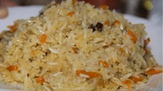 Плов на курдючном жиру,рецепт от Шарафа.