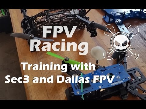 FPV Training Session with Sec3 Pilots and Dallas FPV