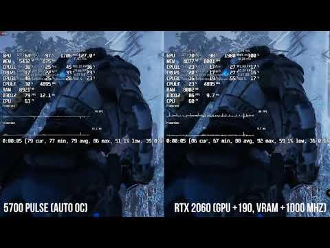 Перепрошивка  BIOS RX 5700 в XT  и сравнение с RTX 2060 SUPER (Честное мнение)