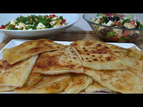 Kolay Ve Pratik 3 Çeşit Kahvaltı Tarifi/Peynir Salatası/Kolay Gözleme/Yumurta Salatas/Seval Mutfakta