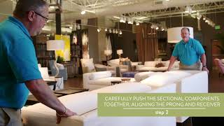 How To Connect & Disconnect a Sectional
