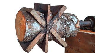 yang senang nikmati karya seni coba lihat ini....bubut kayu