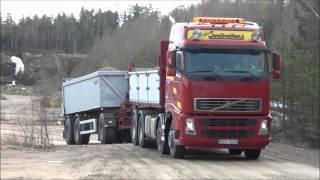 Volvo FH12 460 8x2 Gravel Truck Nice Sound