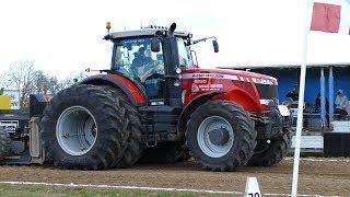 Massey Ferguson 6499, 7495, 7626, 7726, 8130, 8260, 8270, 8460, 8480, 8690 & 8737 | Tractor Pulling