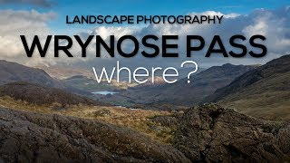 Landscape Photography Lake District - Wrynose Pass