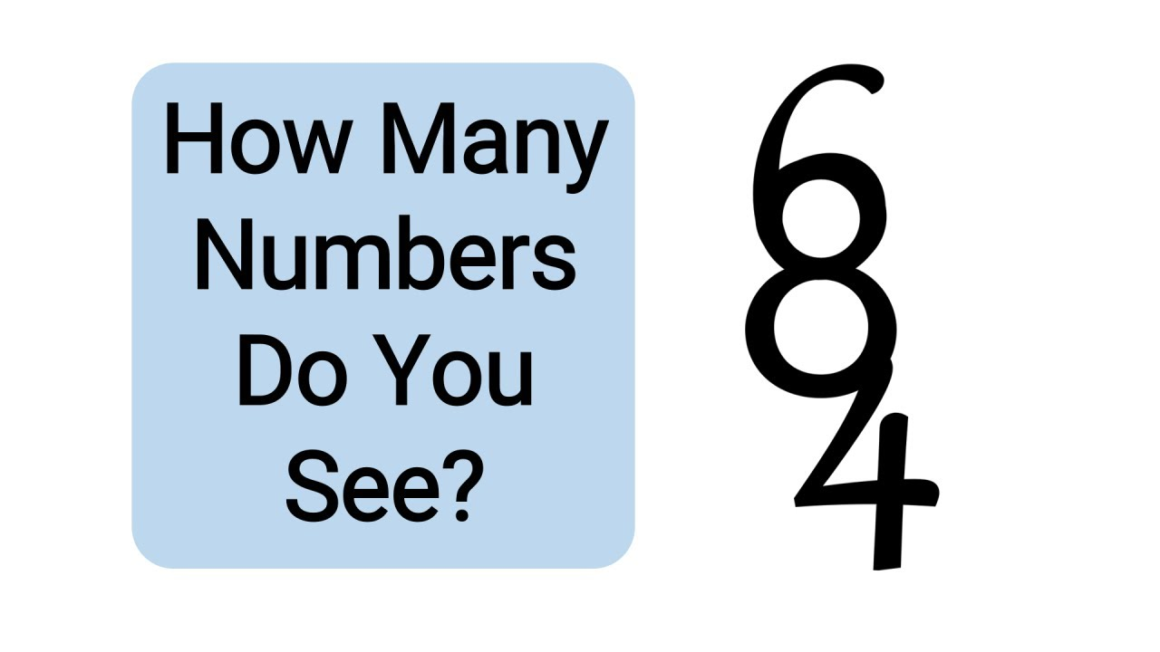 How many numbers can you find?