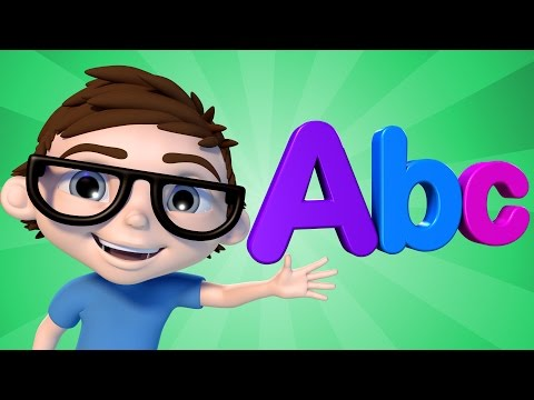 ABC Song | Action | Alphabet | Nursery Rhymes | Baby Songs | 4K