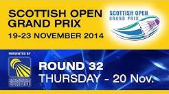R32 - MD - C.COLES / P.VAN RIETVELDE vs F.HOLZER / M.LAMSFUSS - Scottish Open Grand Prix 2014