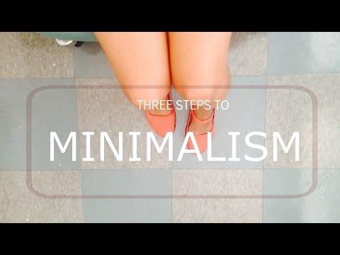 Three Steps to Minimalism -/- VICARI