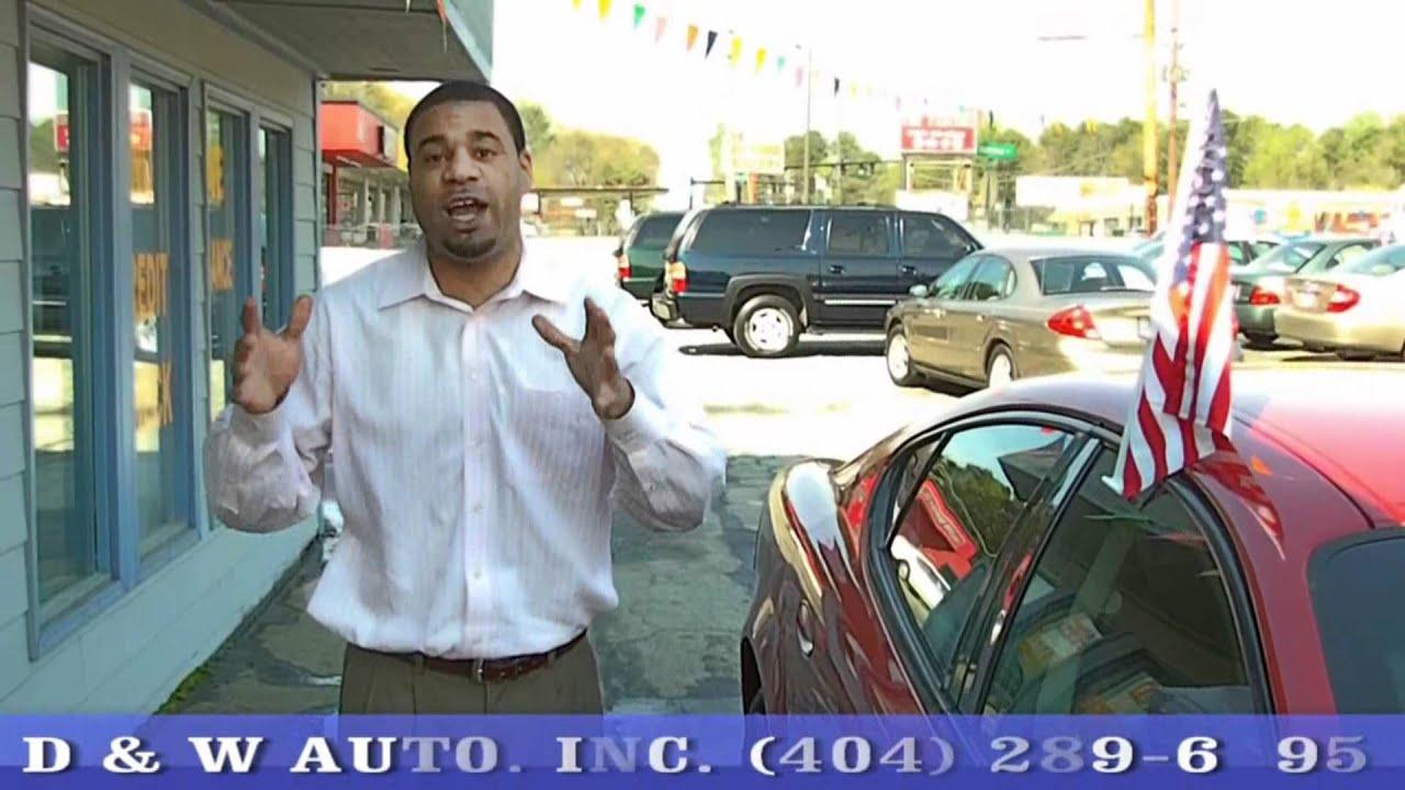D W Auto Sales On Glenwood Rd Decatur Ga Youtube
