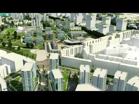Singapore URA Draft Master Plan 2013 - Woodlands Regional Centre