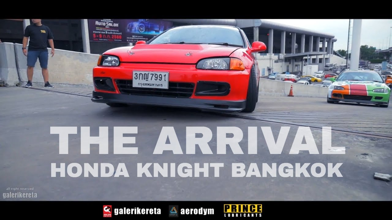 ALL TYPES HONDA CARS ARE HERE   BANGKOK HONDA KNIGHT MEET 2017