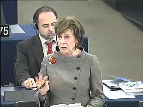 Neelie Kroes about Hungarian Media Law 16.02.2011.