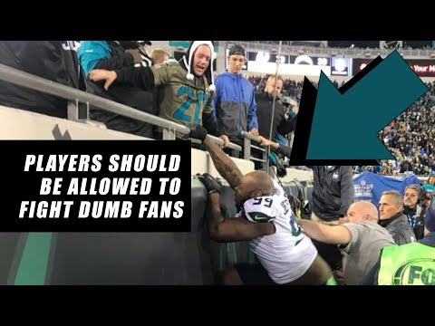Seahawks Quinton Jefferson Tries to FIGHT FANS in Stands