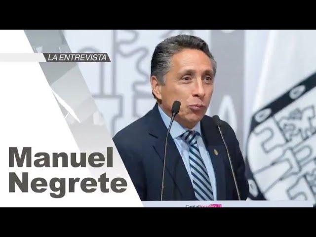 La Entrevista: Manuel Negrete, Alcalde de Coyoacán, CDMX