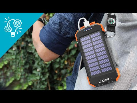 Top 5 Best Solar Charger Power Bank