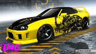 Toyota Supra Customization NFS ProStreet U4G Customs #12