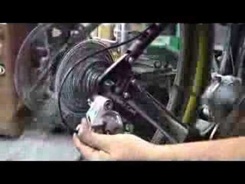 how to change rear derailleur cable