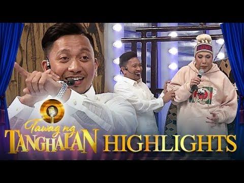 Jhong's sudden speech defect   Tawag ng Tanghalan