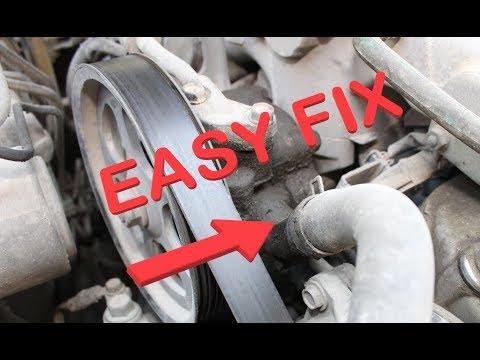 Honda Power Steering Noise Quick Fix