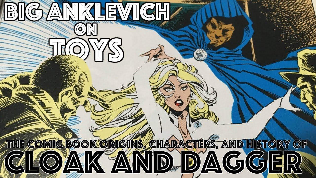 Download Cloak and Dagger Part One: The Comic Book Origins, Characters, and History of Cloak and Dagger
