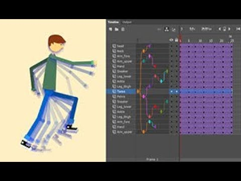 Adobe Animate   How to do layer parenting in Animate